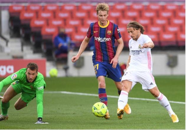TRỰC TIẾP Barcelona 1-3 Real Madrid: Modric gia tăng cách biệt cho đội khách - Bóng Đá