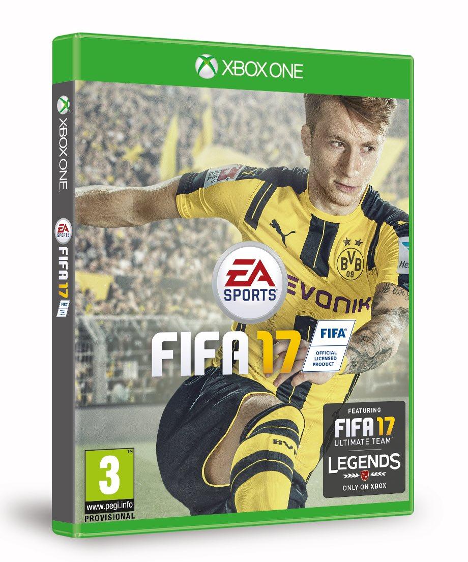 Marco Reus thay Messi trở thành mẫu chính của FIFA 17. Ảnh: Internet.