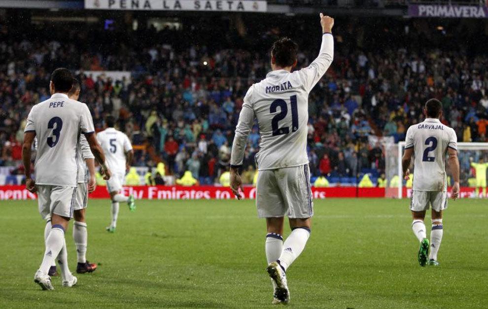 Giải cứu Real, người hùng Morata nói gì?