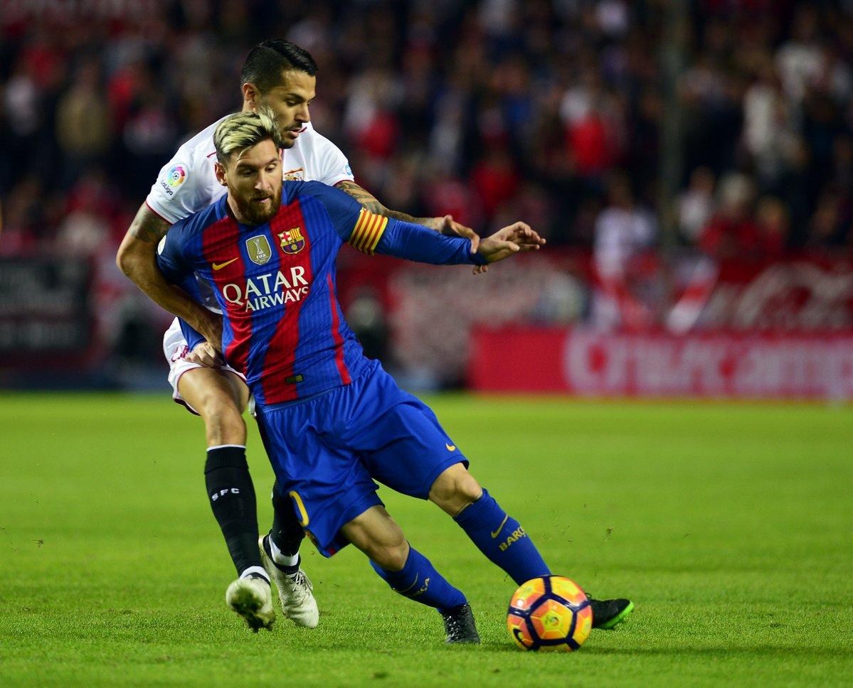 Messi l i m sevilla b ng for Ban ban sevilla