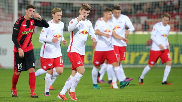 RB Leipzig tiếp tục thắng