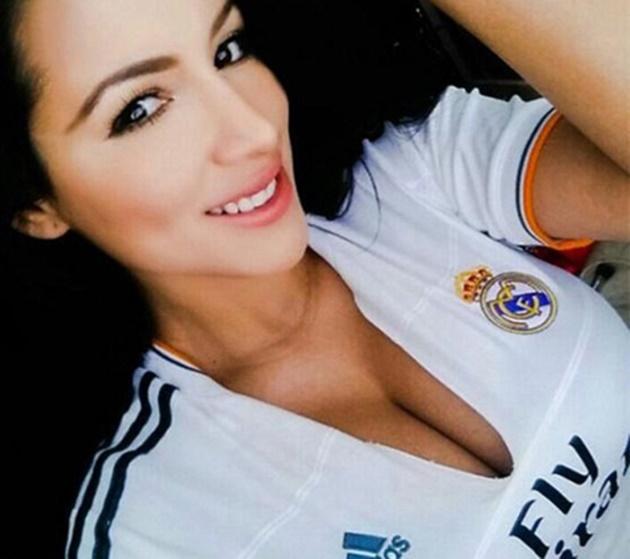 Jeinny Lizarazo - nữ phóng viên bốc lửa yêu Arsenal, Real ... | 630 x 559 jpeg 77kB