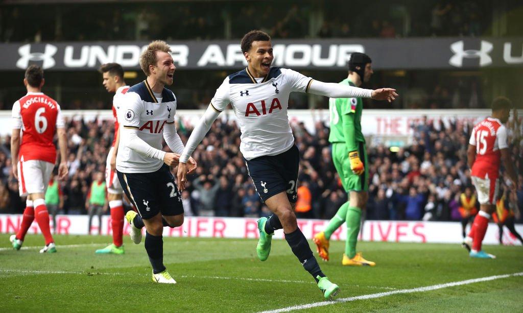 Kane-Alli tỏa sáng, Tottenham hạ nhục Arsenal