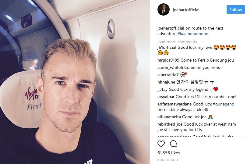 XÁC NHẬN: Joe Hart đã đến West Ham