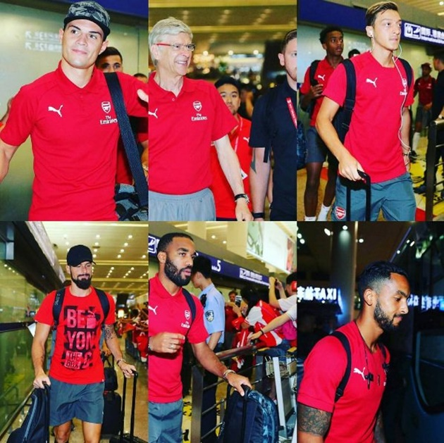Arsenal đến Trung Quốc - Bóng Đá