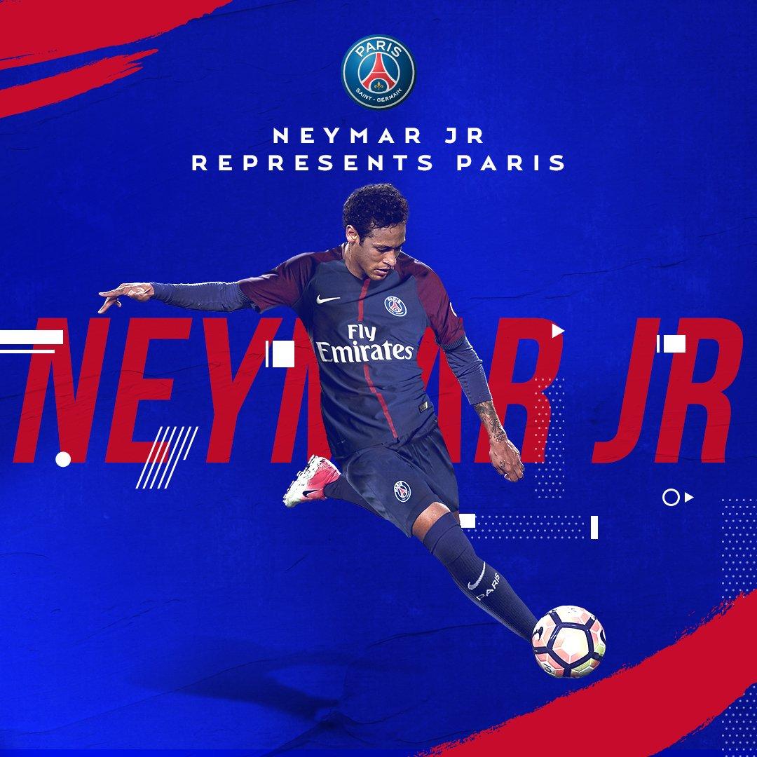 Neymar CHÍNH THỨC mặc áo PSG, đắt nhất mọi thời đại - Bóng Đá