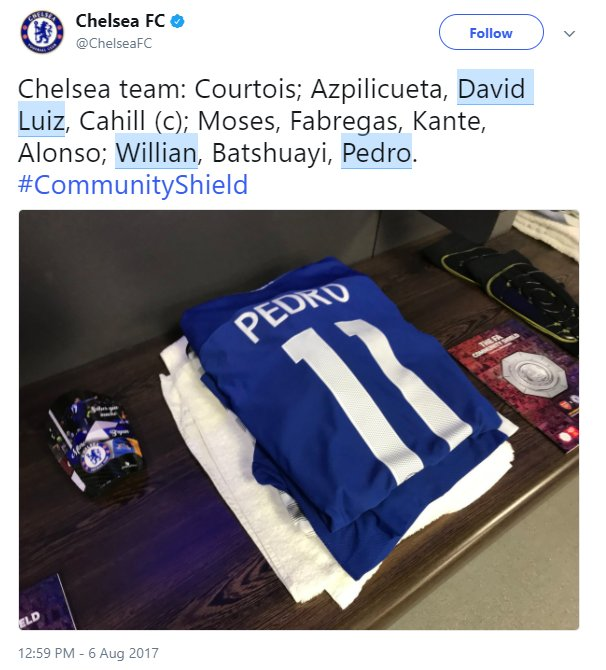 TRỰC TIẾP Arsenal vs Chelsea: Morata, Sanchez, Ozil vắng mặt - Bóng Đá