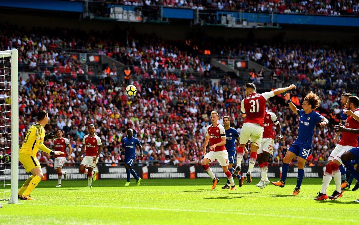 TRỰC TIẾP Arsenal 1-1 Chelsea: Pedro bị đuổi, Kolasinac san hòa! (hiệp 2) - Bóng Đá