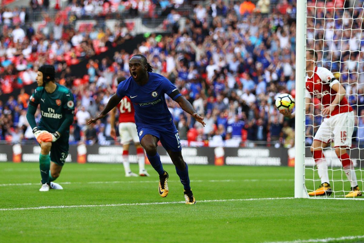 TRỰC TIẾP Arsenal 0-1 Chelsea: Moses bất ngờ mở tỷ số (hiệp 2) - Bóng Đá