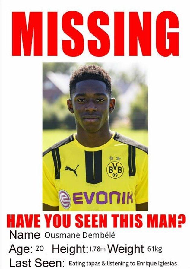 CẬP NHẬt vụ Dembele: Cầu thủ và Barca 'chơi lầy', Dortmund vẫn cứng rắn - Bóng Đá