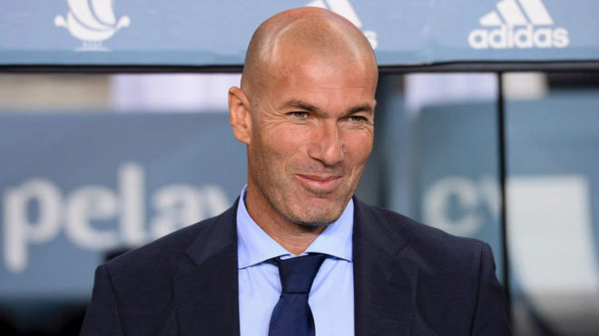 Zidane thấy
