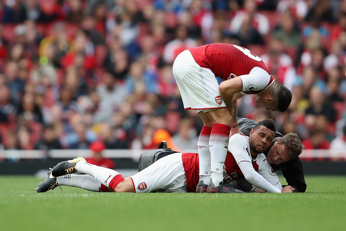 XÁC NHẬN: Arsenal mất Coquelin 3 tuần - Bóng Đá