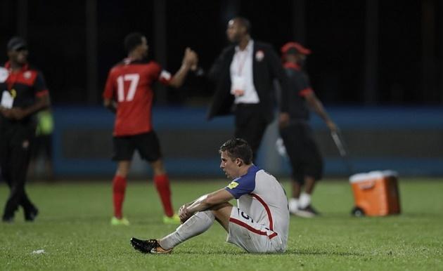 Người Mỹ thẫn thờ ngày tạm biệt giấc mơ World Cup - Bóng Đá