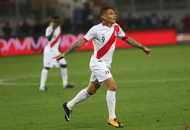 Paolo Guerrero đi vào lịch sử bóng đá Peru - Bóng Đá