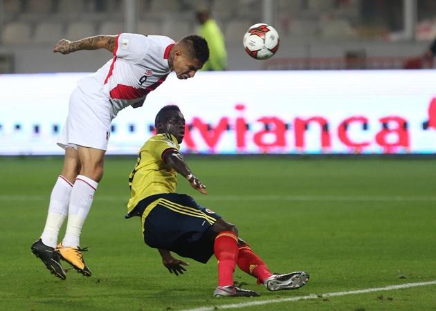 Peru giật vé play-off - Bóng Đá