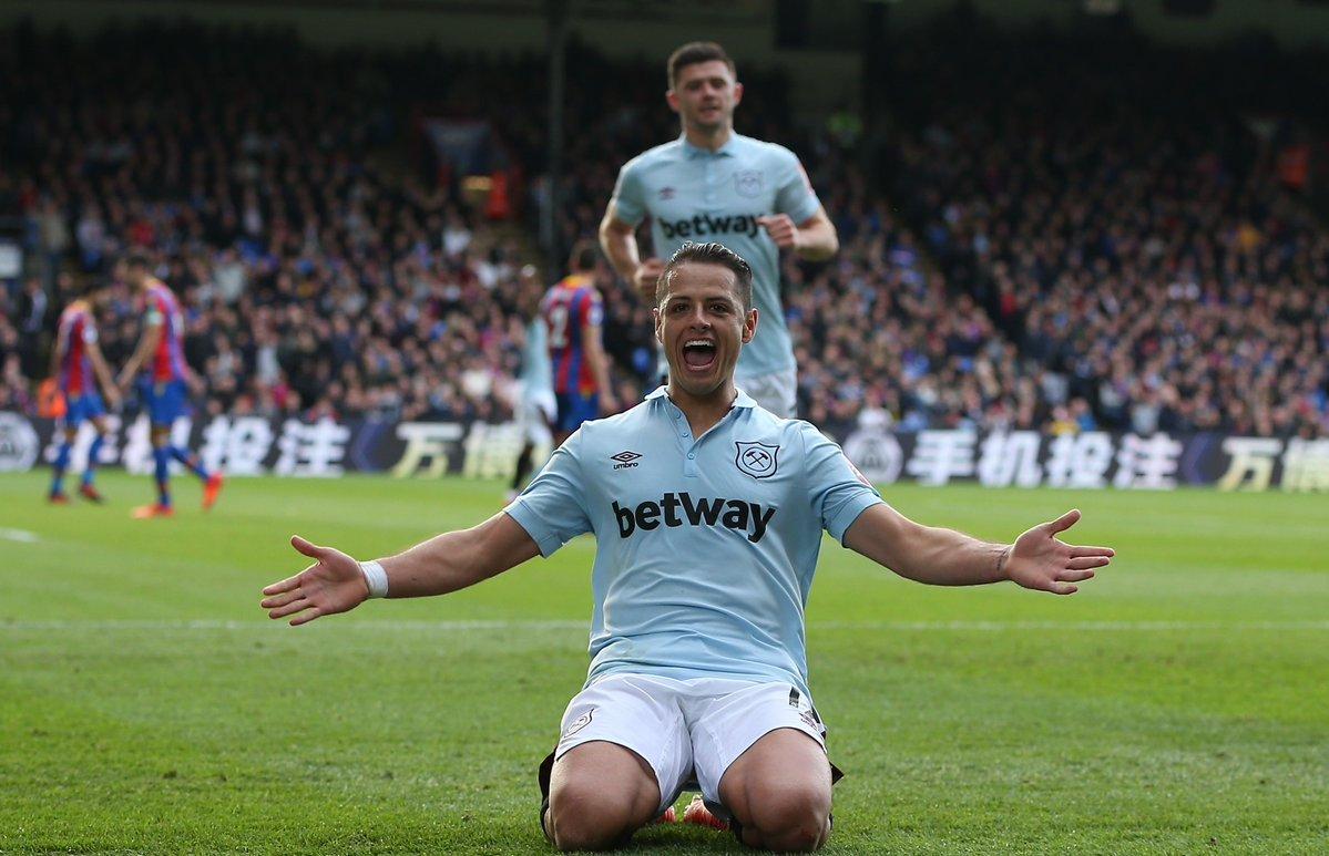 Javier Hernandez tiếp tục thành tích ấn tượng ở Ngoại hạng Anh - Bóng Đá