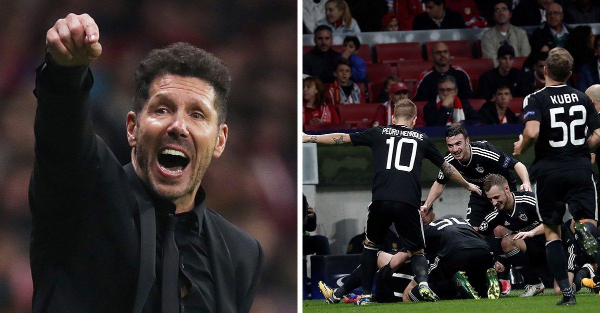Atletico Madrid trên bờ vực thẳm: Diego Simeone cạn ý tưởng? - Bóng Đá