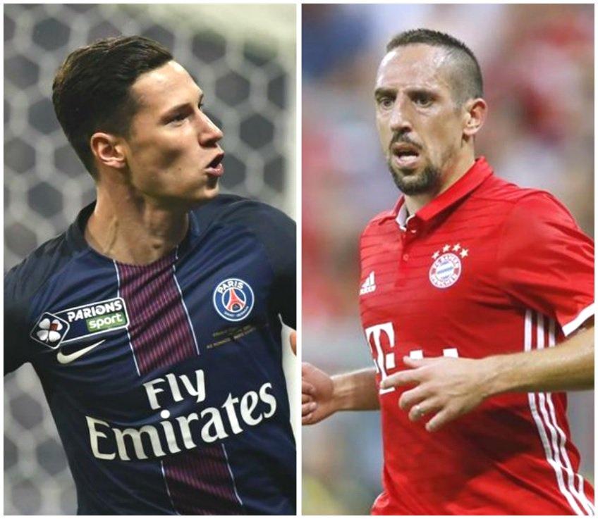 Tiễn Ribery, Bayern tranh với Arsenal và Liverpool - Bóng Đá