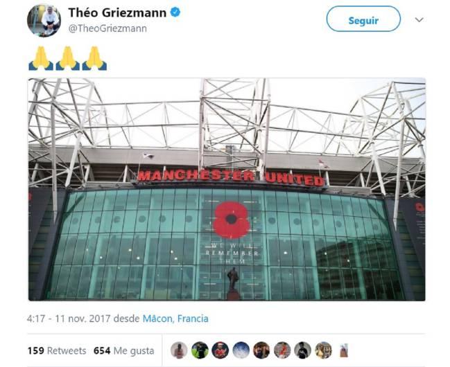 Ngày Antoine Griezmann đến Old Trafford đã rất gần! - Bóng Đá
