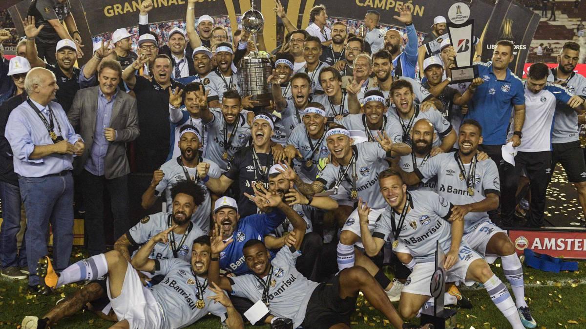 CLB Brazil vô địch Copa Libertadores 2017 - Bóng Đá