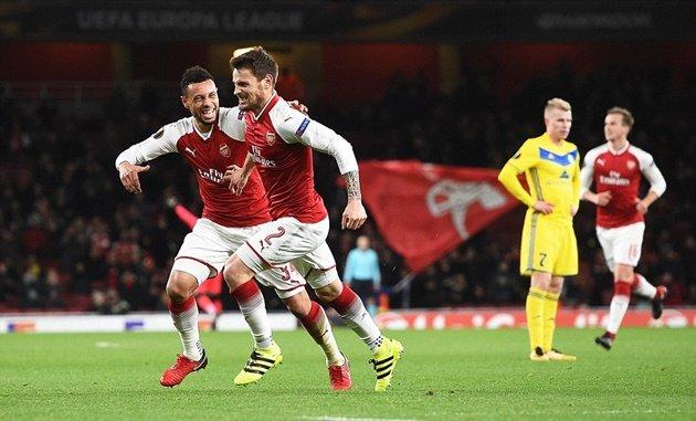 Arsenal ngán nhất đội nào ở Europa League? - Bóng Đá