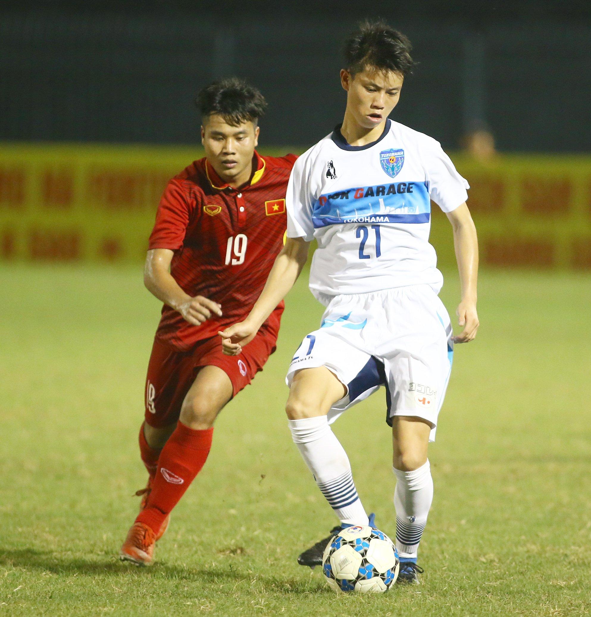 18h30 ngày 22/12, TRỰC TIẾP U21 Việt Nam vs U21 Yokohama: Thử thách cực đại - Bóng Đá