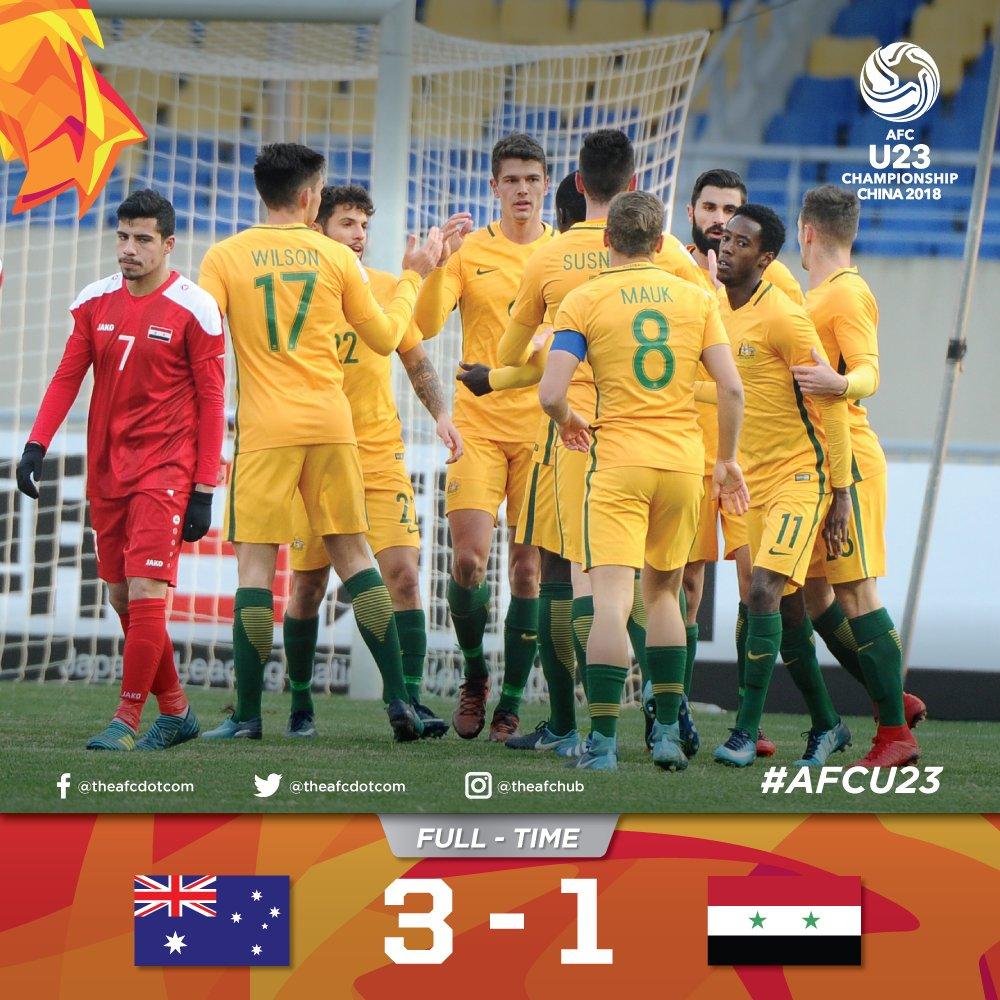 Đè bẹp Syria, Australia gửi lời thách thức U23 Việt Nam - Bóng Đá