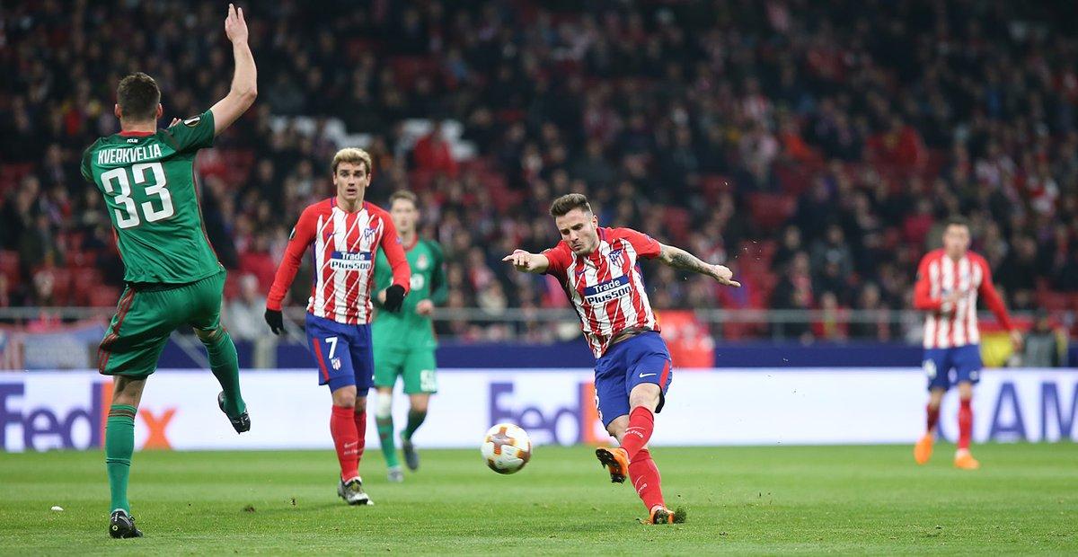 Diego Costa nổ súng, Atletico Madrid đè bẹp CLB Nga - Bóng Đá