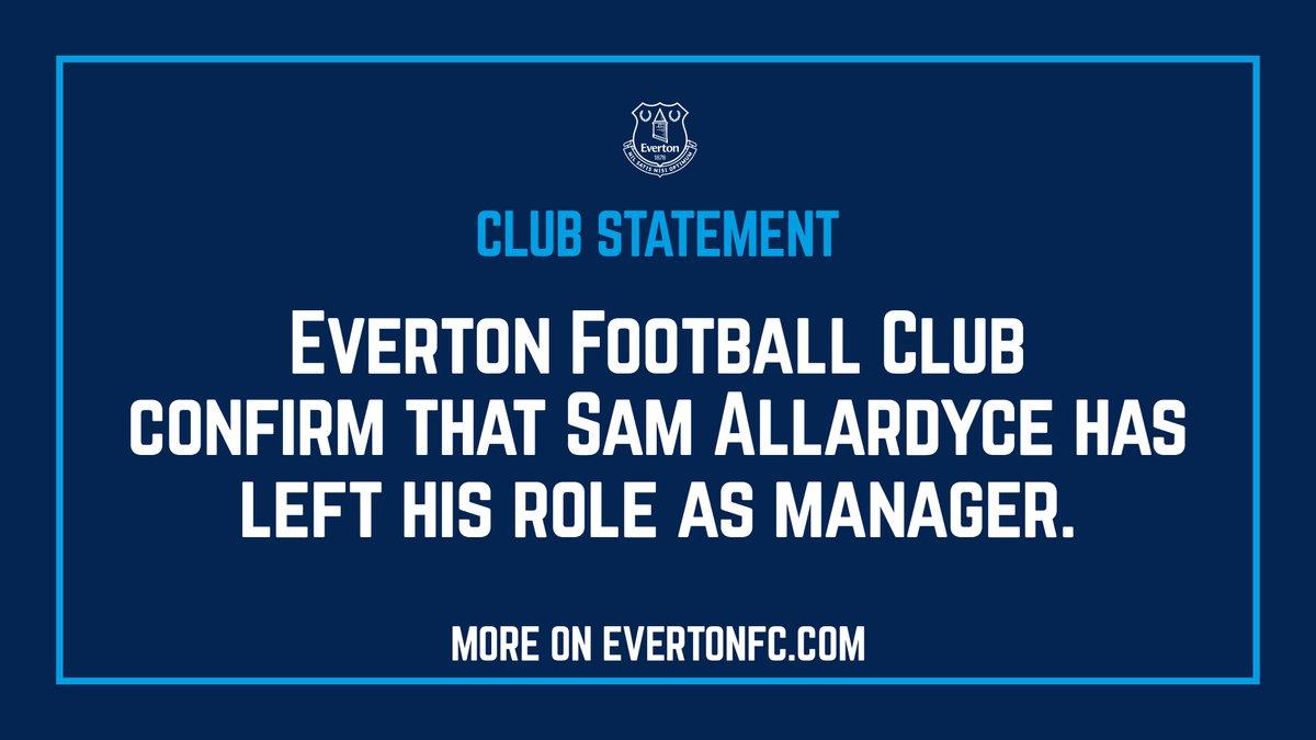 Everton sa thải Sam Allardyce, dọn đời cho HLV mới - Bóng Đá