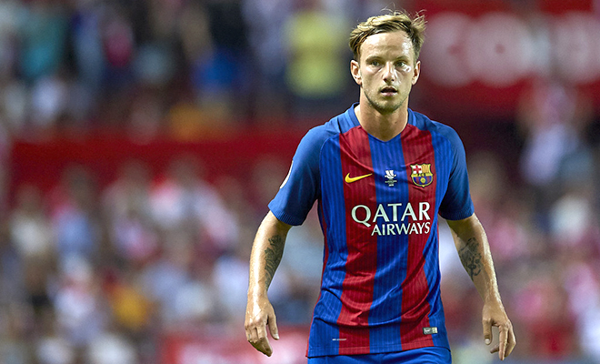 Barca có 'biến': Rakitic không hài lòng với Enrique? - Bóng Đá