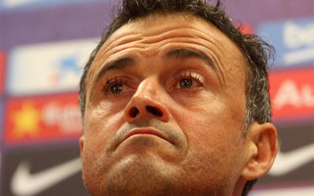 Vào chung kết, Enrique vẫn không vui chút nào