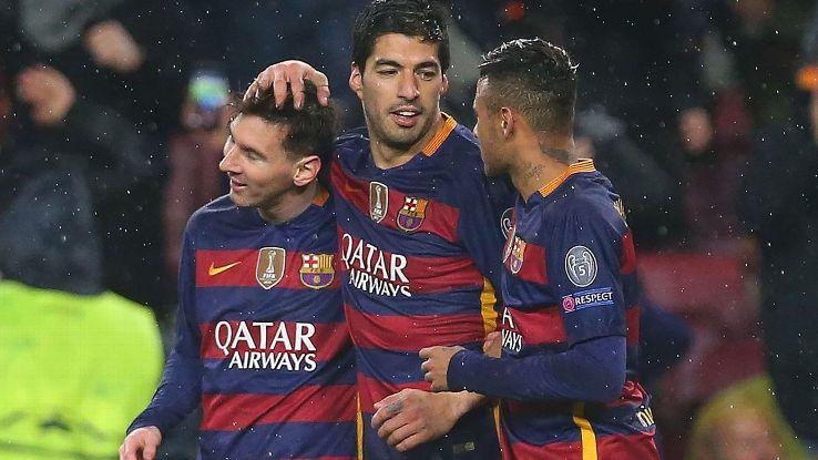 'Tam tấu MSN luôn cần phần còn lại của Barca'