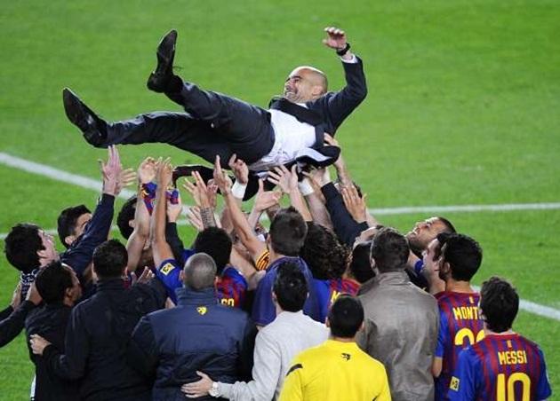 5 HLV thành công nhất lịch sử Barca: Đôi bạn thân Pep - Lucho - Bóng Đá