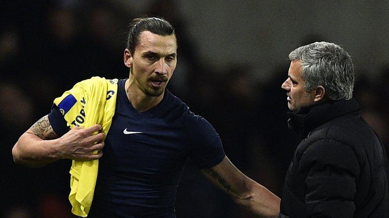 Bị Mourinho 'chửi', Ibrahimovic gật gù đồng ý - Bóng Đá