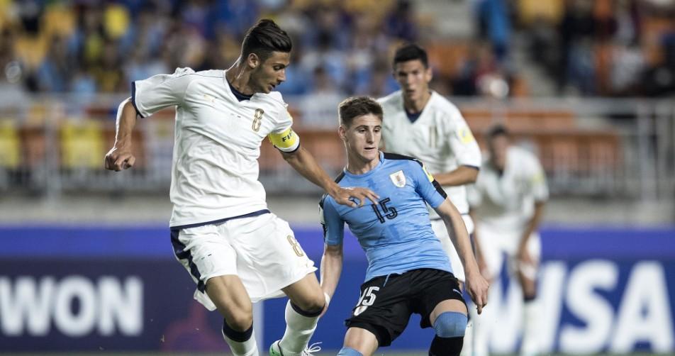 Siêu phẩm bù đắp penalty, U20 Uruguay khuất phục U20 Ý - Bóng Đá