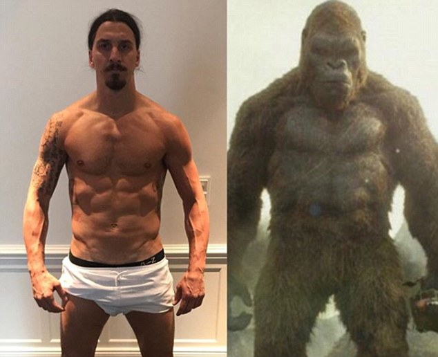 Ibrahimovic tự ví mình với King Kong - Bóng Đá