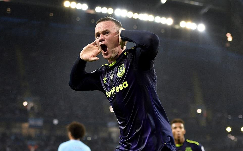 Xé lưới Man City, Rooney đạt cột mốc khủng - Bóng Đá