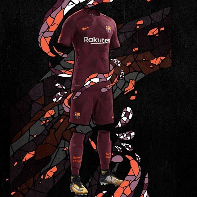 Áo đấu thứ 3 của Barca - Bóng Đá