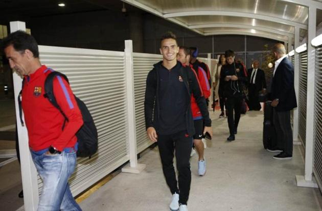 Ảnh Barca hành quân đến Madrid - Bóng Đá