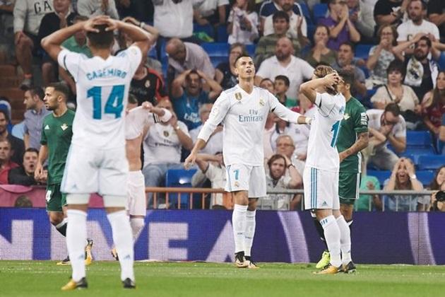 5 điểm nhấn Real – Betis: Sân nhà không còn an toàn - Bóng Đá