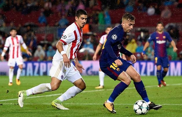 5 điểm nhấn Barca – Olympiacos: Phát hiện cầu thủ thứ 12 của Barca, Messi hoàn tất - Bóng Đá