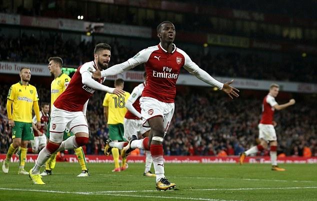 Giải cứu Arsenal, sao trẻ được Wenger trao cơ hội vàng - Bóng Đá
