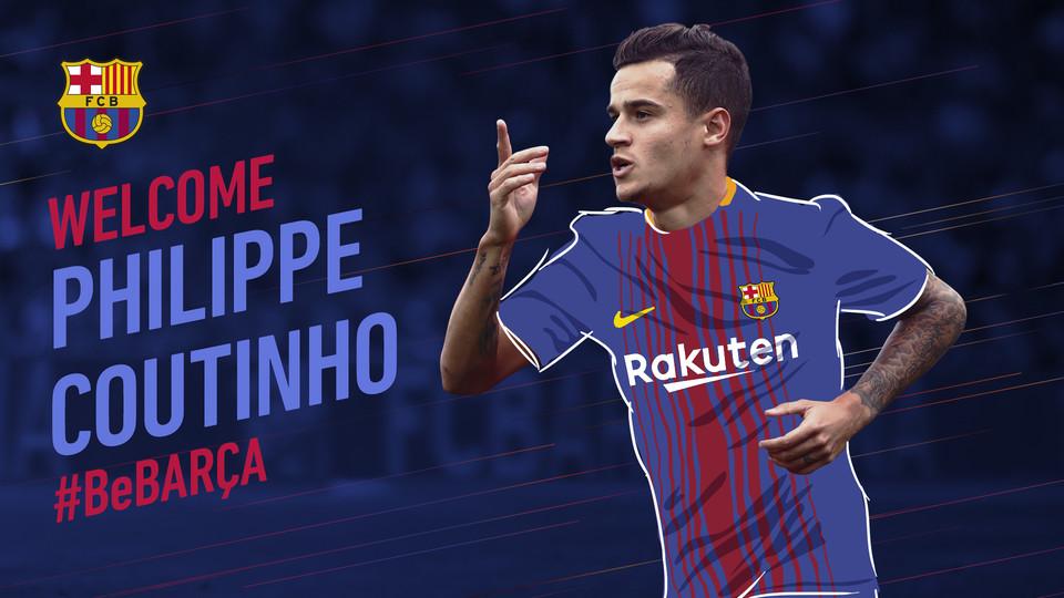 CHÍNH THỨC: Barcelona chiêu mộ Coutinho, phá kỷ lục chuyển nhượng - Bóng Đá