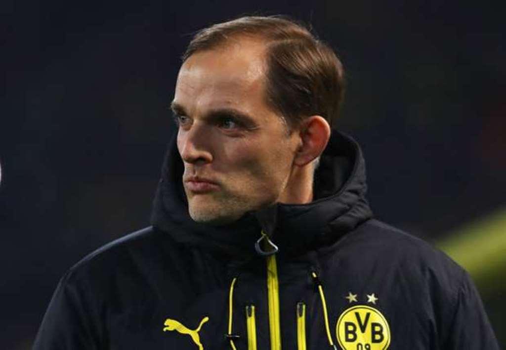 Thomas Tuchel cay đắng với trận hòa của Dortmund