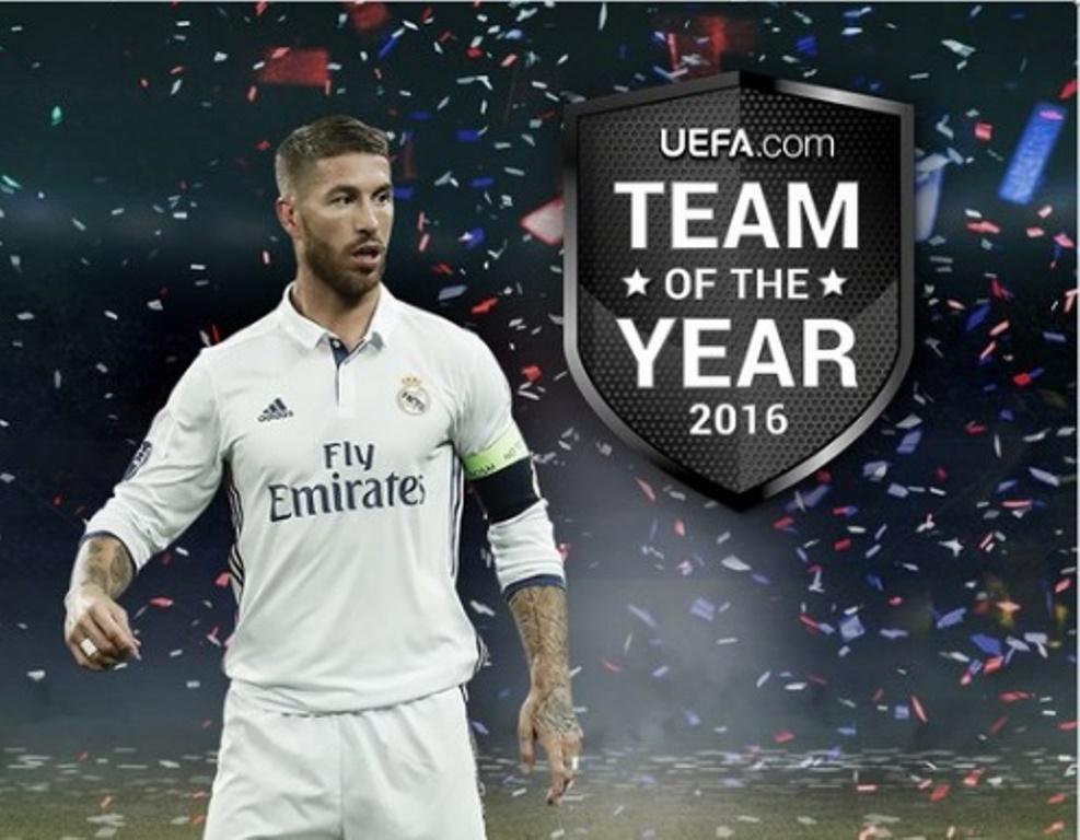 UEFA chính thức công bố Đội hình tiêu biểu năm 2016 - Bóng Đá