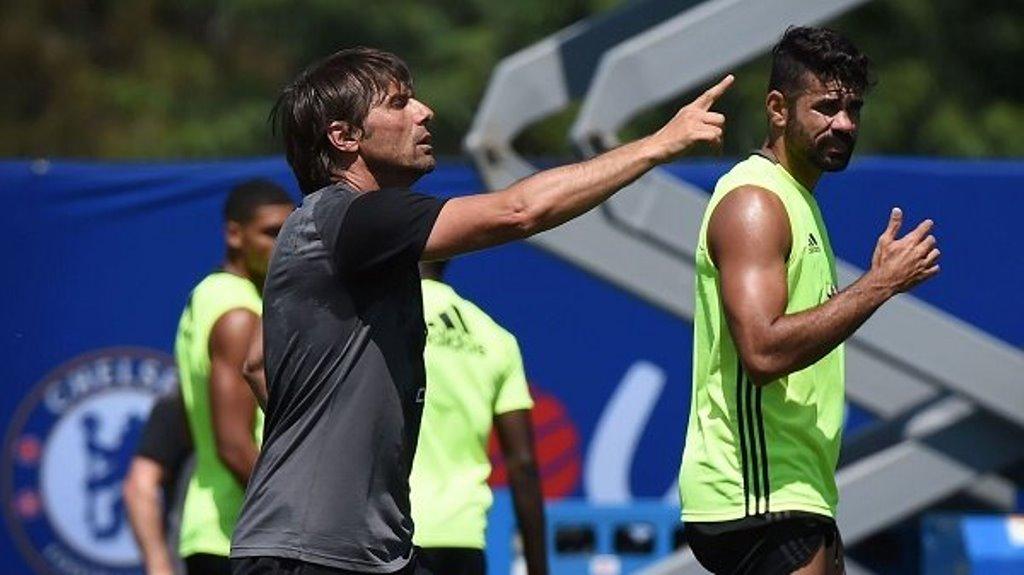 Giả vờ chấn thương, Costa bị trừng phạt - Bóng Đá