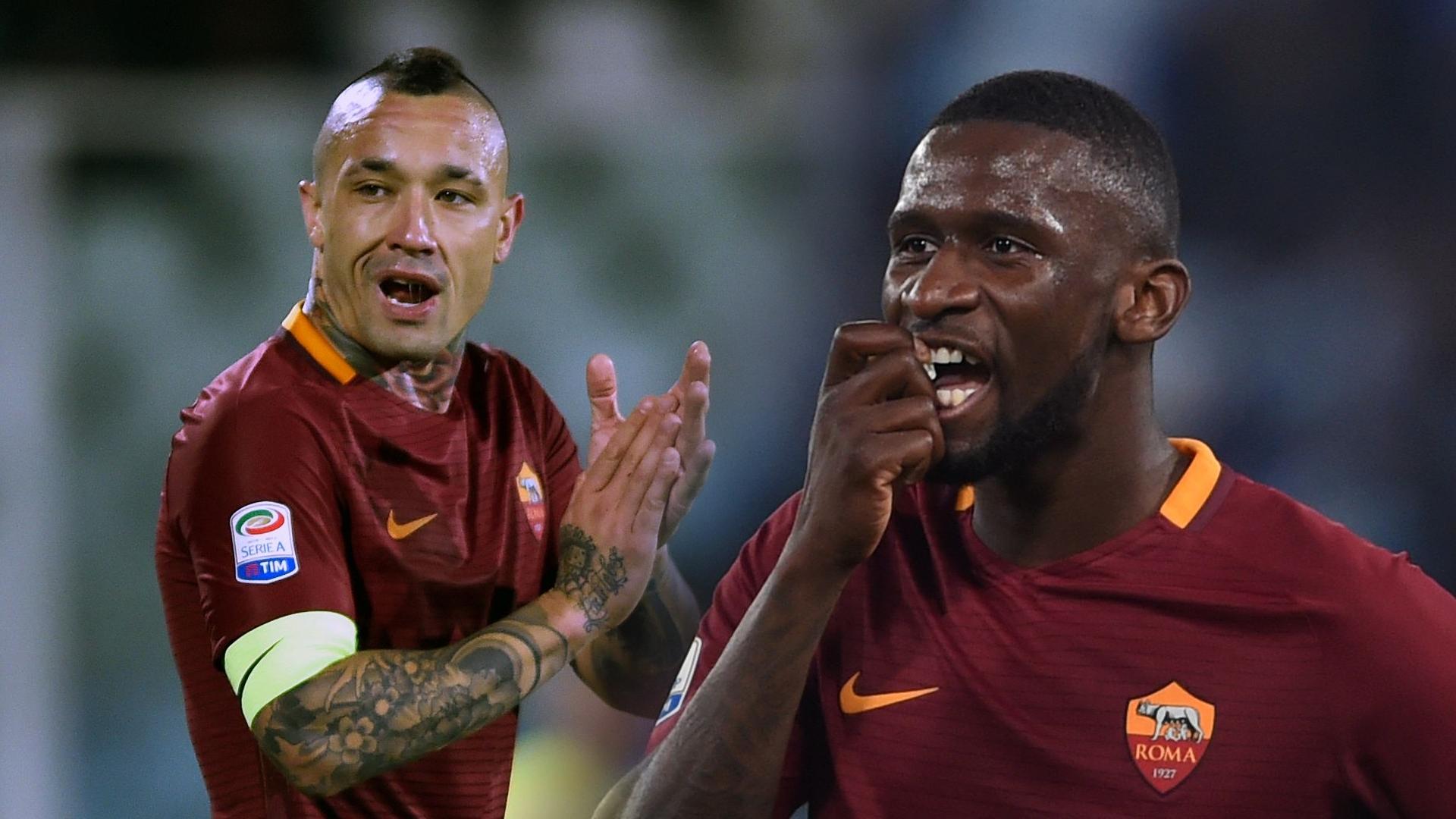 Conte chi lớn vì bộ đôi Roma - Bóng Đá