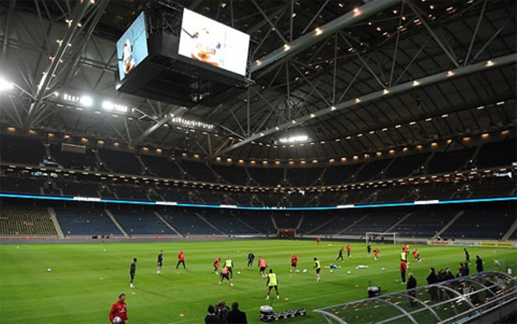 SVĐ Friends Arena sẵn sàng chào đón Man Utd và Ajax - Bóng Đá