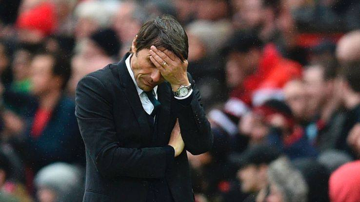 Không bất ngờ, Antonio Conte đứng đầu danh sách bị sa thải - Bóng Đá