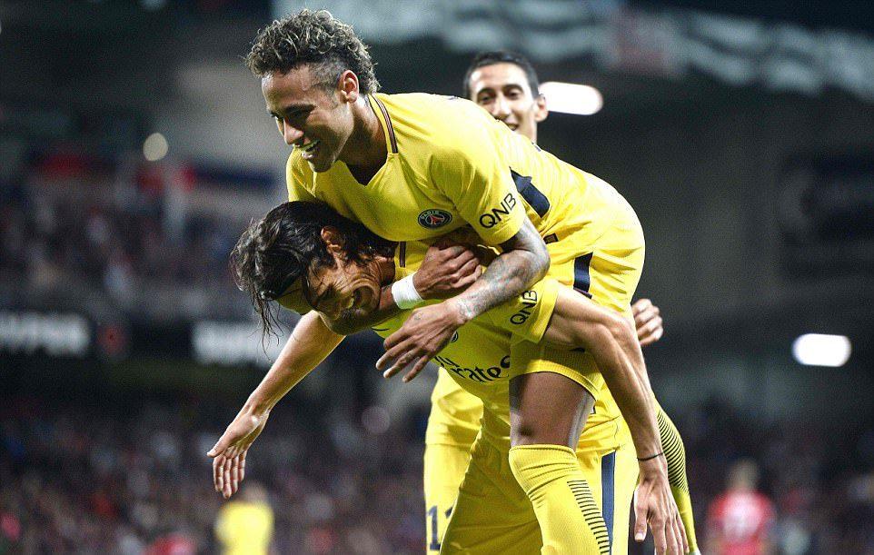 Neymar ghi bàn ra mắt, PSG hủy diệt Guingamp - Bóng Đá